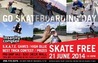 GO SKATE DAY JUNE 21
