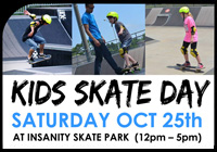 KIDS SKATE DAY OCT 25