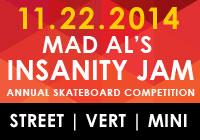 MAD AL'S INSANITY JAM 2014 NOV 22
