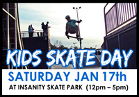 KIDS SKATE DAY JAN 17