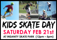 KIDS SKATE DAY RESCHEDULED FEB 28