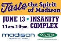 Taste the Spirit of Madison JUN 13