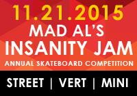 MAD AL'S INSANITY JAM 2015 NOV 21
