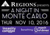 """A Night in Monte Carlo"" Benefiting March of Dimes 