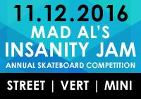 MAD AL'S INSANITY JAM 2016 | NOV 12