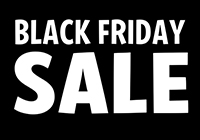 Black Friday Sale Nov 25