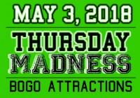 THURSDAY MADNESS | May 3