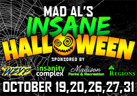 MAD AL'S INSANE HALLOWEEN 2018