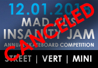MAD AL'S INSANITY JAM 2018 | CANCELED