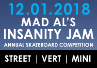 MAD AL'S INSANITY JAM 2018 | DEC 1