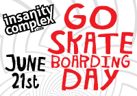 GO SKATEboarding DAY | JUNE 21