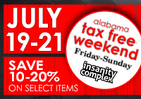 """Back-to-School"" TAX FREE Weekend 