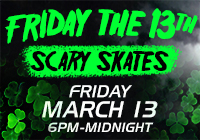 FRIDAY THE 13TH Scary Skates | Mar 13