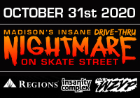 Madison's Insane DRIVE-THRU Nightmare on Skate Street | Oct 31