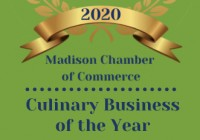 2020 Culinary Business of the Year!