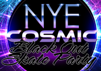 New Year's Eve COSMIC BLACK OUT SKATE PARTY | Dec 31