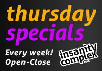 Thursday Specials | Every Week!