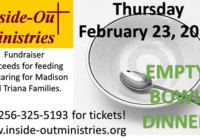 InsideOut Ministries to host Empty Bowl Dinner Feb 23
