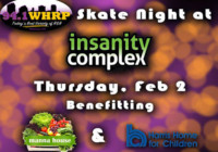 94.1 WHRP 21+ Skate Night Feb 2