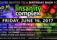 Insanity Complex Birthday Bash | June 16