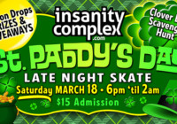 St. Paddy's Day Skate | Mar 18