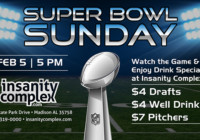 Super Bowl Sunday Feb 5